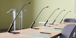 Pronájem - půjčovna konferenčních mikrofonů Shure