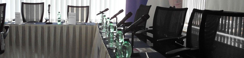 KONFERENČNÍ AV TECHNIKA SLUŽBY, Konferenční služby